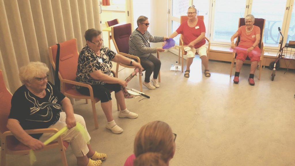 Näkövammaisten yli 68-vuotiaiden sopeutumisvalmennuskurssi